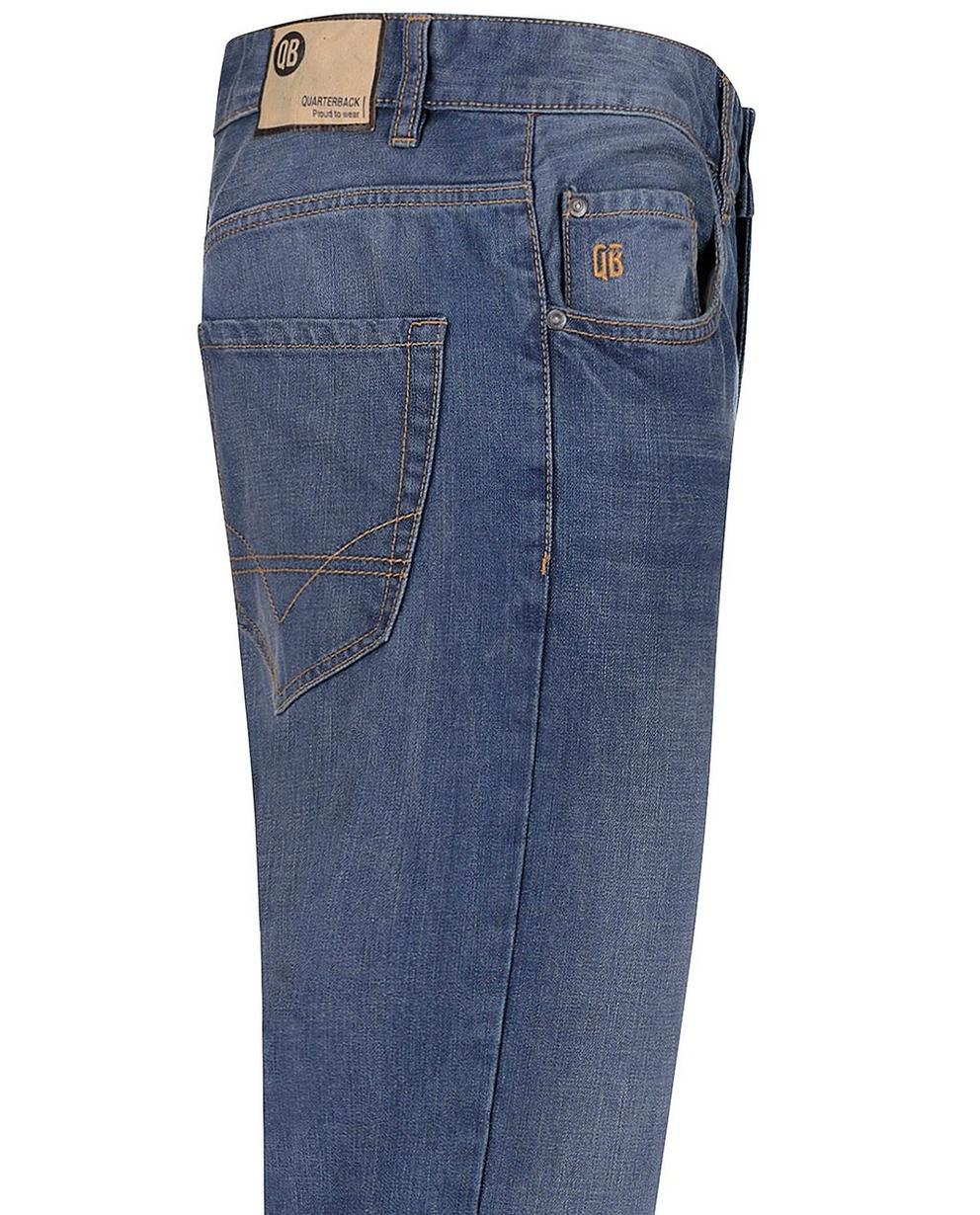 Jeans - light turquise - Jeans délavé
